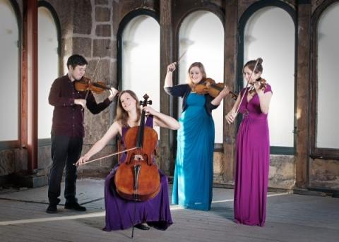 Aurea Quartet,  classical musicians, britannia panopticon
