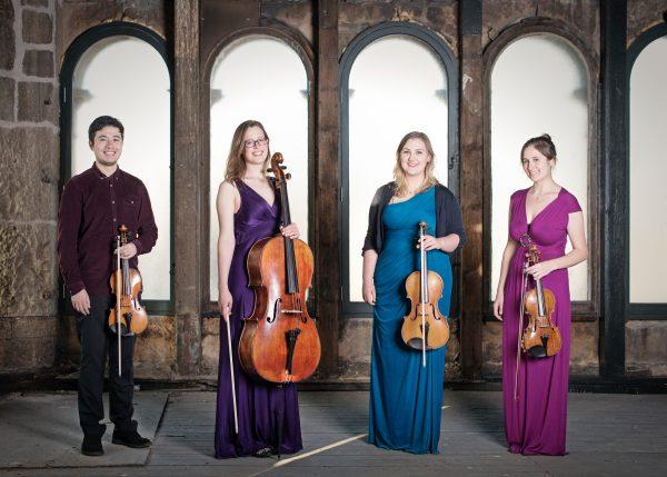 Aurea Quartet, musicians, britannia panopticon