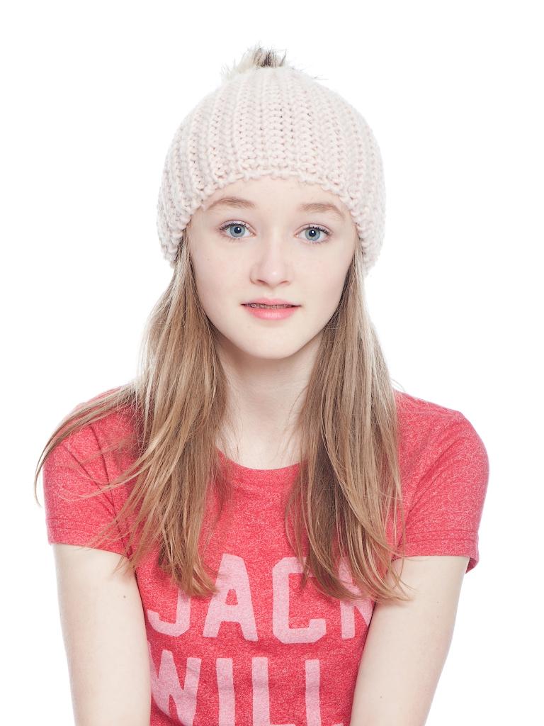 Lifestyle studio portrait of teenage girl Edinburgh