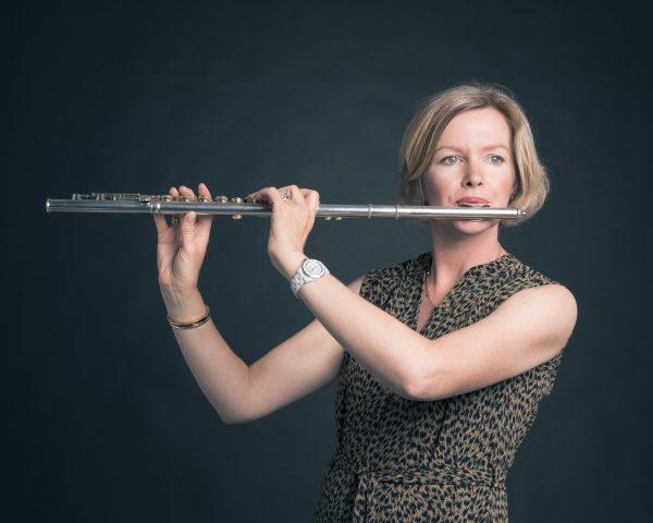 Classical musician portraits of Edinburgh based duo flautist and cellist, Spectrum.