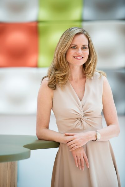 Corporate portrait female natural light